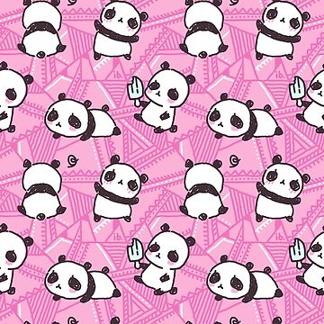 Cute Pandas Pattern by freeminds