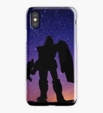 Gundam at Night iPhone Case/Skin