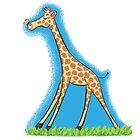 Cute giraffe cartoon by FrogFactory