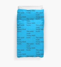 Read Young Adult Books - Fundraiser Duvet Cover