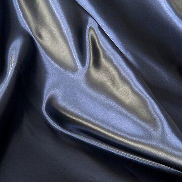 Photo satin fabric black coloured by stuwdamdorp