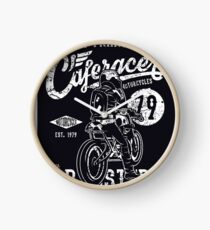 Cafe Racer Reunion Clock