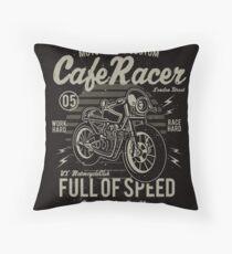 Cafe Racer 05 Throw Pillow