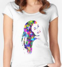 Flower Girl Women's Fitted Scoop T-Shirt