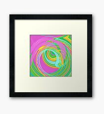 Abstract turning Framed Print