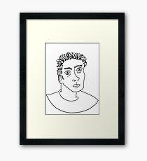 james dean! Framed Print