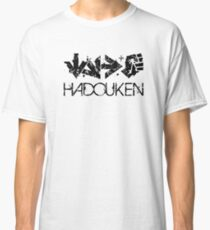 Hadouken Command Black Classic T-Shirt