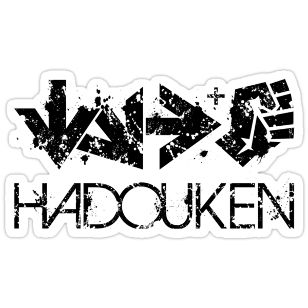 Hadouken! Sticker