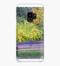 Lonely bench Case/Skin for Samsung Galaxy