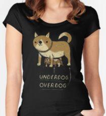 underdog overdog Women's Fitted Scoop T-Shirt