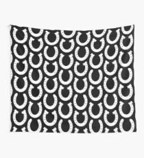 White Horseshoes  Wall Tapestry