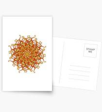 Organic Swurl 387 Rescaled Postcards