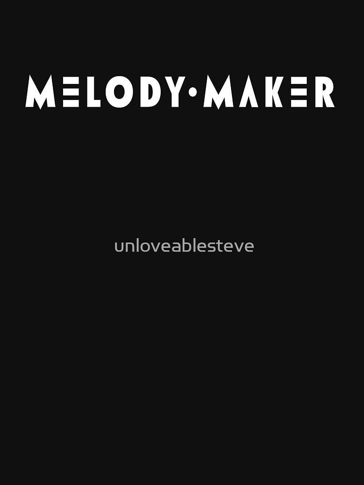 Melody Maker magazine by unloveablesteve