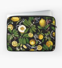 Lemon Tree - Black Laptop Sleeve