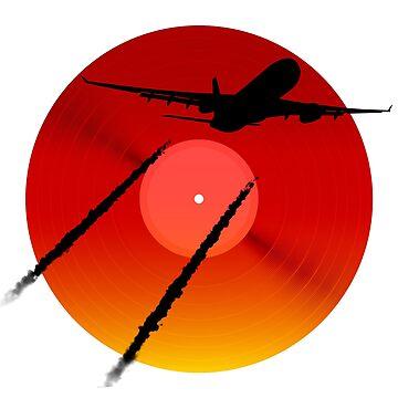 Leaving on a Jet Plane LP by elmindo