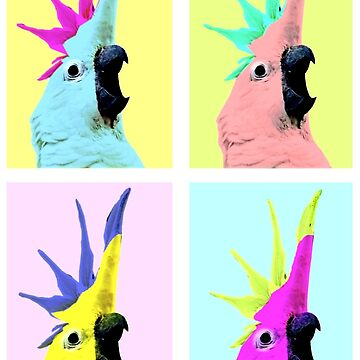 pop art cockatoo by FandomizedRose