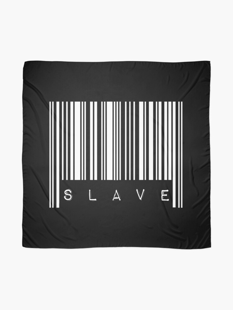 Alternate view of BarCode Slave Scarf