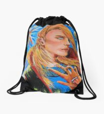 Art is an EXPLOSION  Drawstring Bag