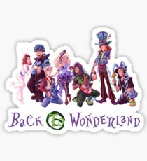Back to Wonderland Sticker