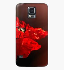 Red poppy 2 Case/Skin for Samsung Galaxy