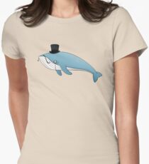 Sir whale Women's Fitted T-Shirt
