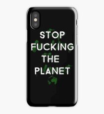 Ecology Activism iPhone Case