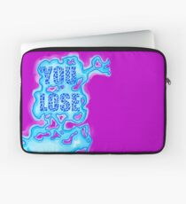 """Quentin Quire's Psychic """"You Lose"""" Shirt Laptop Sleeve"""