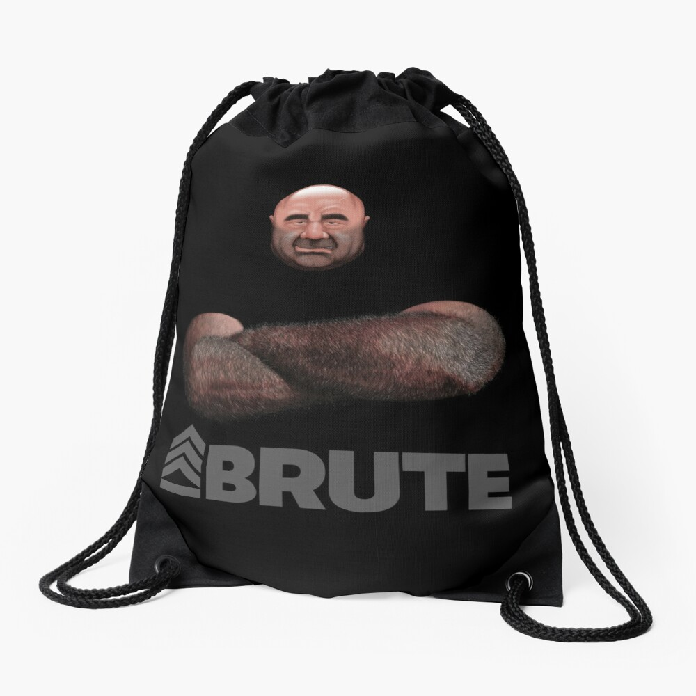 Brute by Simon 2018 Drawstring Bag Front