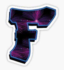 F - rays Sticker