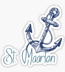 St. Maarten Sticker