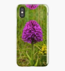 Pyramidal Orchid - iPhone Case iPhone Case