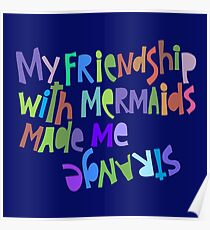 Friendship with Mermaids. Poster