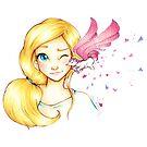 Unicorn Kiss von MelisArt