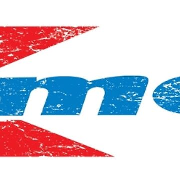 Vintage 80's 90's K-Mart Logo Distressed by VirtuaRicky