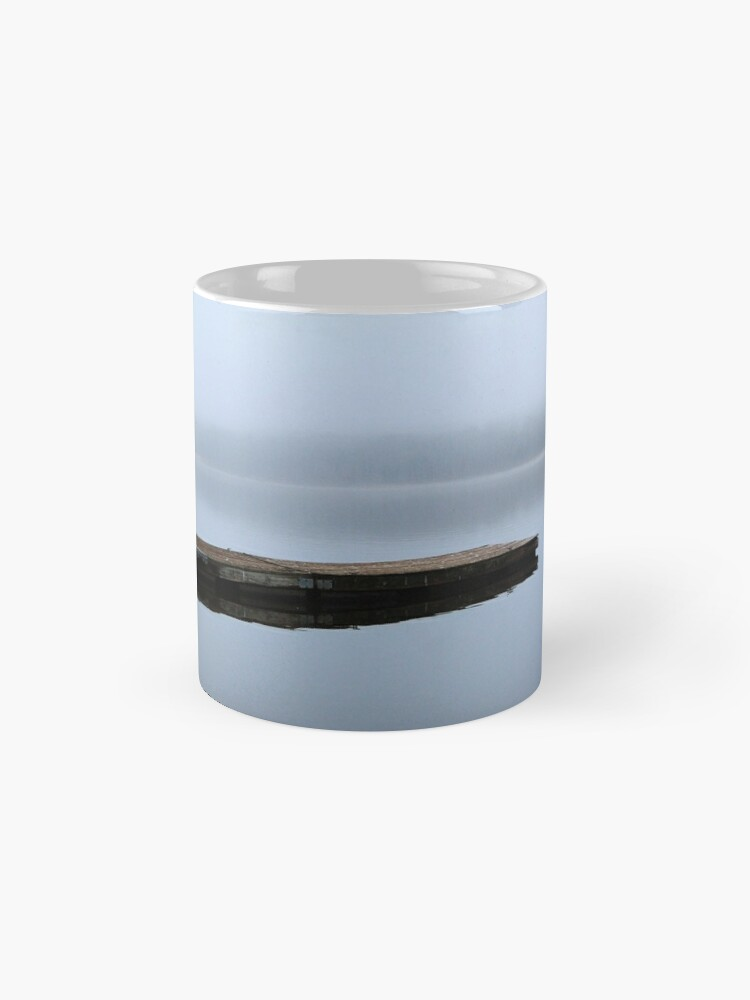 Alternate view of Tranquil Blue Waters Mugs