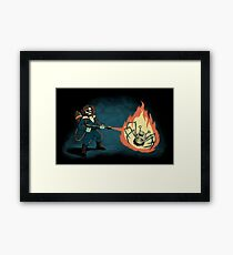 KILL IT WITH FIRE Framed Print