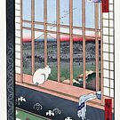 Asakusa Ricefields and Torinomachi Festival by Hiroshige by Ruth Moratz