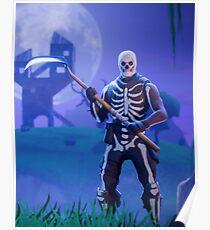 Fortnite - Skull Trooper Poster