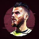 Geometric De Gea by Mark White