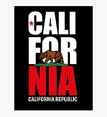 California Republic Photographic Print
