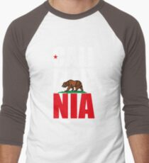 California Republic Men's Baseball ¾ T-Shirt