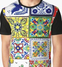 Colorful mosaics painted by hand Graphic T-Shirt