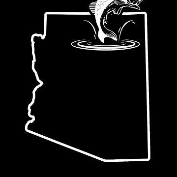 Striped Bass Fishing Arizona Small Mouth Bass by shoppzee