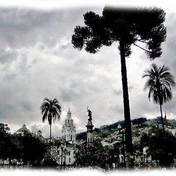 The Magnificent Historic District Of Quito, Ecuador by alabca