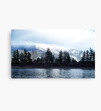 Springtime in Montana Canvas Print