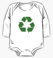 Recycling Symbol One Piece - Long Sleeve