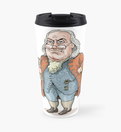 Benjamin Franklin Travel Mug