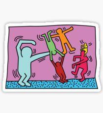 Keith Haring x Govinda Sticker