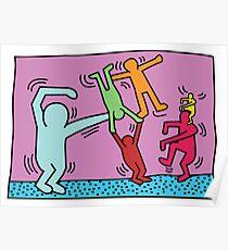 Keith Haring x Govinda Poster