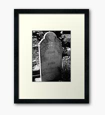 Hughes Framed Print